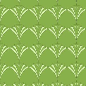 Art Deco Fan Greenery
