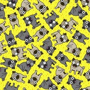 Pug-a-Dot (Small Yellow)