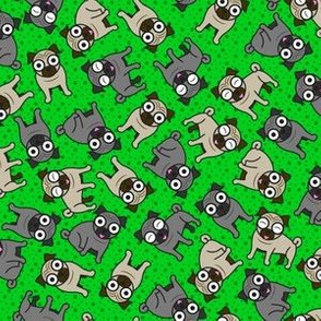 Pug-a-Dot (Small Green)