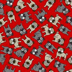 Pug-a-Dot (Small Red)