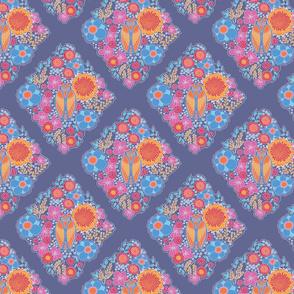 ramatuelle motif over indigo
