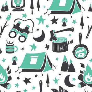 Camp Life - Aqua