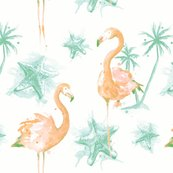 Rrbeach_flamingos_pinkgreen_repeat_2400_shop_thumb