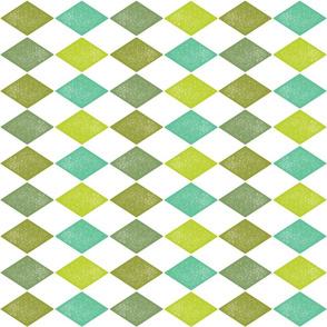 Greeny Harlequin