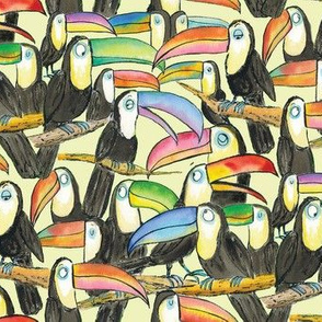 Toucan Party Yellow Small