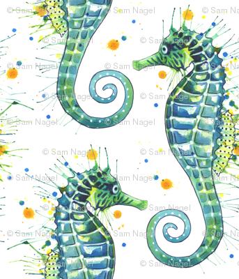 Seahorse - Green