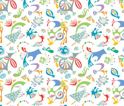 high level white fabric by andibird on Spoonflower - custom fabric