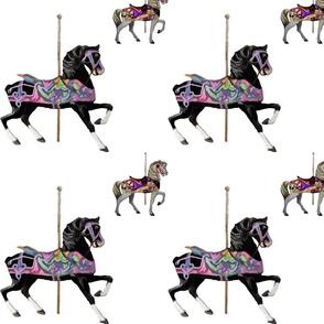 Carousel_Horse_b_w