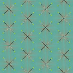 Line of Arms (Aqua)