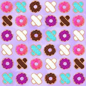 XOXO Donuts Purple