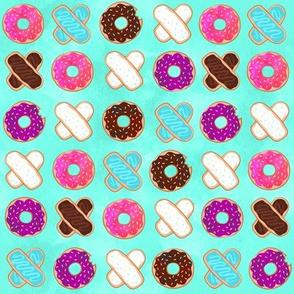 XOXO Donuts Mint