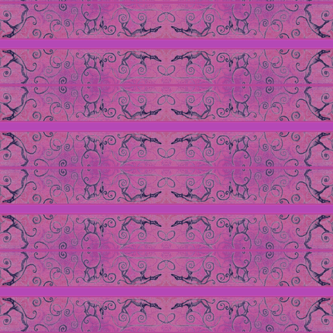 RoseySighthoundViewsNoBorder-ed fabric by cloudsong_art on Spoonflower - custom fabric