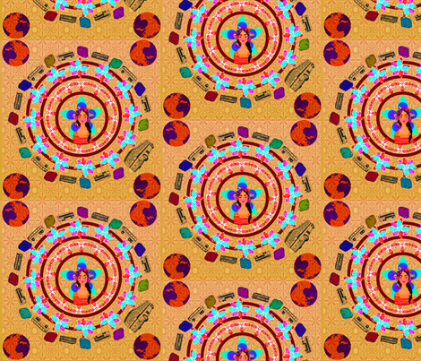Traveller fabric by s_gemini93 on Spoonflower - custom fabric