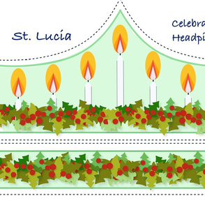 St Lucia Candle Head Dress