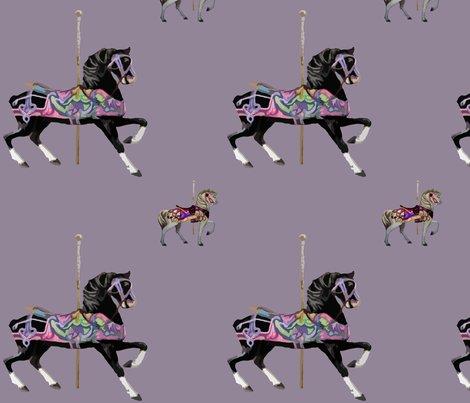 Carousel_horse_b_w_lavander-01_shop_preview