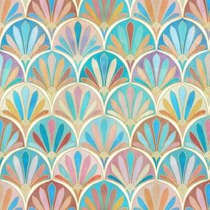 Vintage Twenties Art Deco Pattern small version