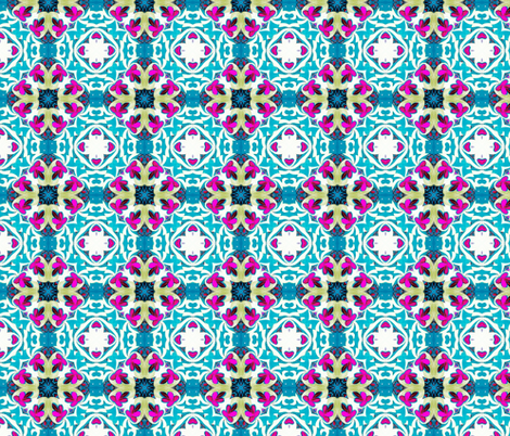 Bohemian Beauty fabric by coveredbydesign on Spoonflower - custom fabric