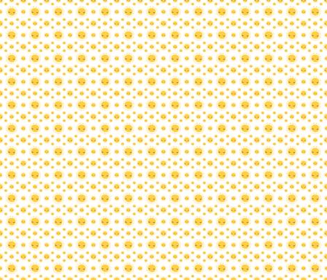 Flamingo Suns fabric by snapdragonandfinn on Spoonflower - custom fabric