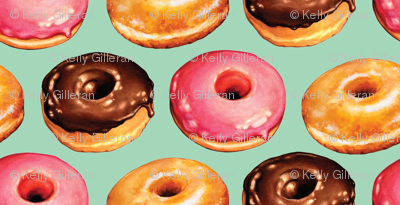 Donuts - Teal