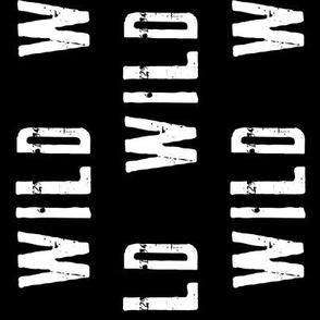 "2"" WILD // black (90)"