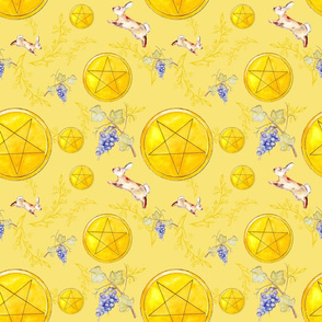 Pentacles Scatter