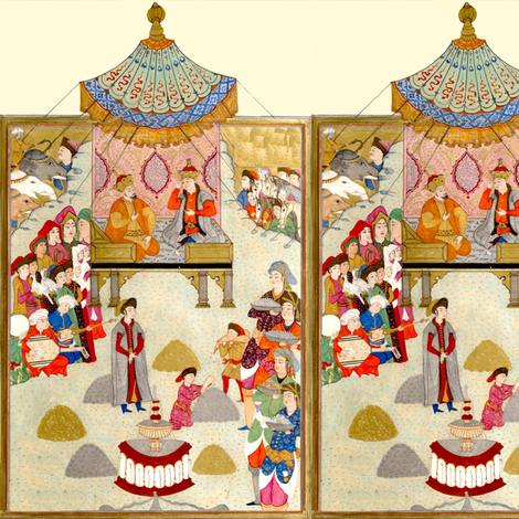 ottoman empire fabric by lbehrendtdesigns on Spoonflower - custom fabric