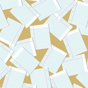Notebook Paper Scatter - Camel