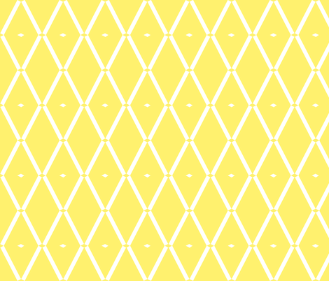 diamonds-in yellow fabric by pip_pottage on Spoonflower - custom fabric