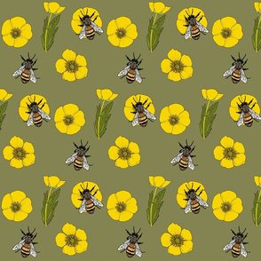 Buttercup_repeat_green_2