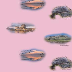 Highland_landmarks_single_pink