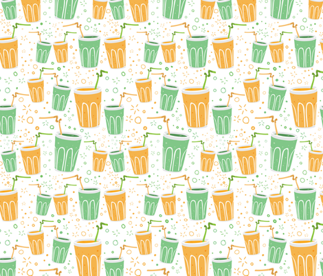 cheers at San Chocolate fabric by natalia_gonzalez on Spoonflower - custom fabric