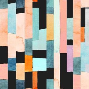 Vertical geometry blocks