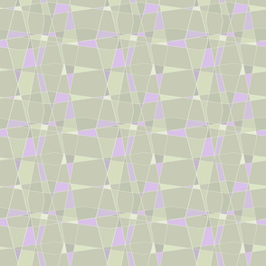 Angled glass-orchid-sage
