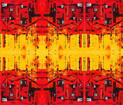 Cyborgs View fabric by roschdesign on Spoonflower - custom fabric