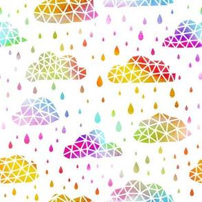 Geo Rainbow Rainclouds