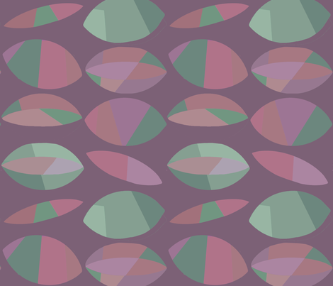 plum-beans fabric by wren_leyland on Spoonflower - custom fabric