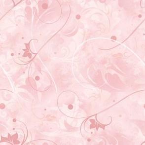 Subtle Pink Swirls