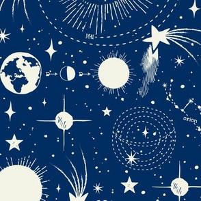 Solar System - Blue