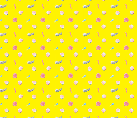 Sparkle Dots Pattern  fabric by hleemessina on Spoonflower - custom fabric