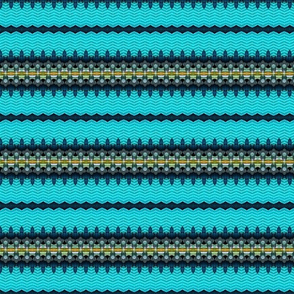 Speculative Sharp Metal Stripe