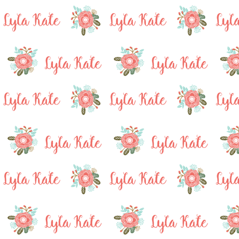 lyla fabric by charlottewinter on Spoonflower - custom fabric