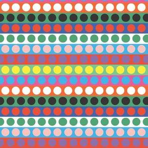 Memphis spots and stripes