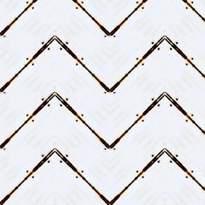 Shabby Wood Chevron  -faded lines