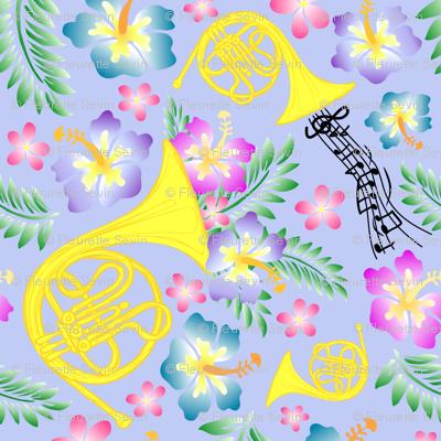 Periwinkle Horn