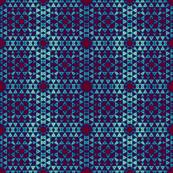 Comfy turquoise plaid