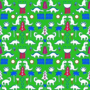 Scandi Dinosaurs Folk Art Challenge Entry