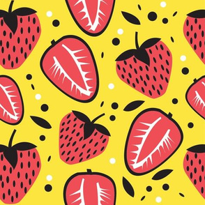 strawberry fun yellow
