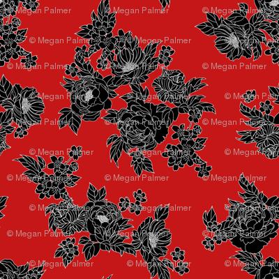 Havana Floral - Red