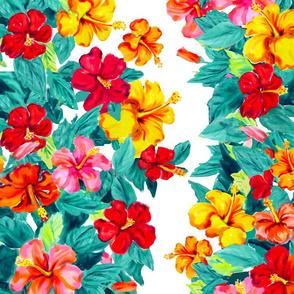 My Hibiscus Garden panels