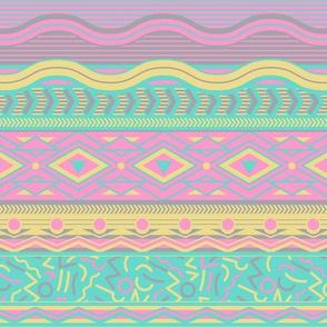 Memphis Stripe - Neons